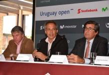 Conferencia de prensa del Uruguay open