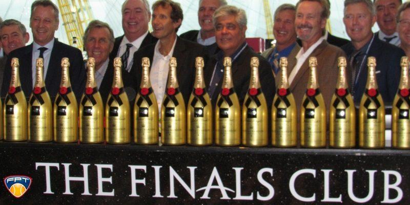 presidente da ATP Chris Kermode e Kirmayr Federação Paulista de Tênis