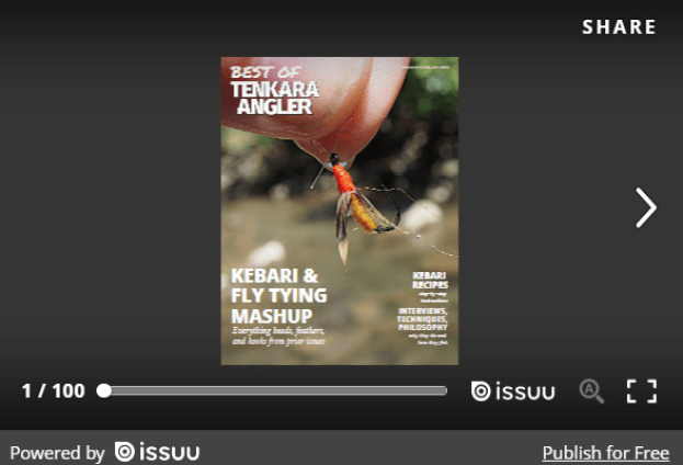 Tenkara Angler Best of Kebari