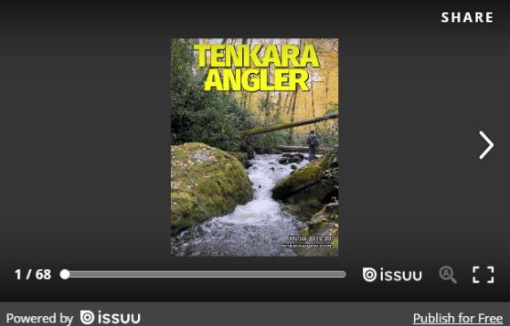 Tenkara Angler Magazine - Winter 2019-20