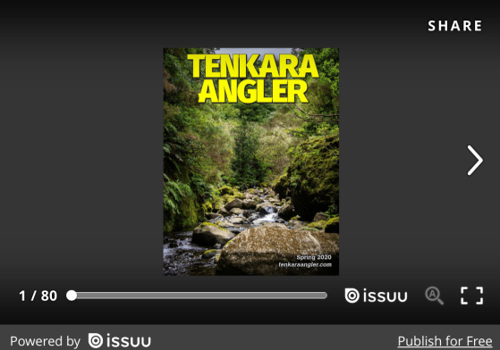 Tenkara Angler Magazine - Spring 2020