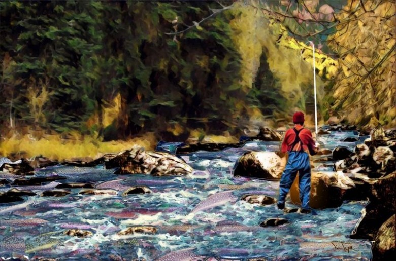 Jim Tignor SP17 - Prismatic Tenkara - That Guy In Orange