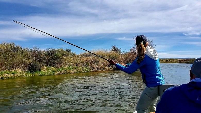 Karin Miller SU20 - Gray Reef Tenkara - Rod Bend
