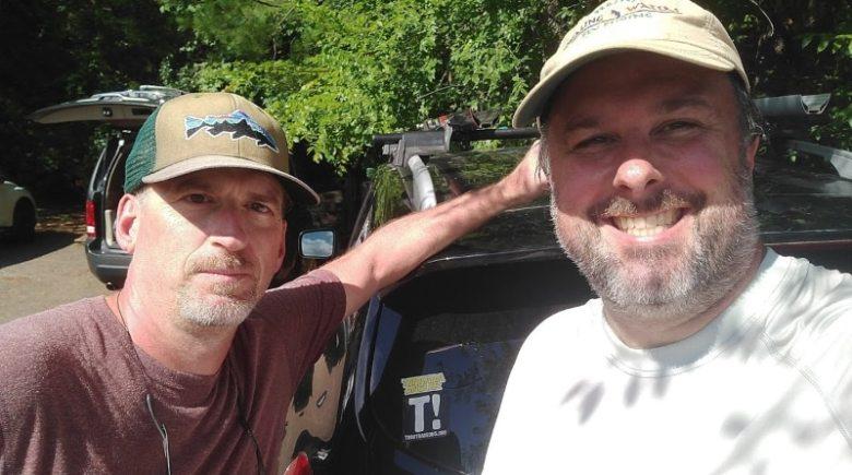 Haw River Trip Report - Jim & Jason