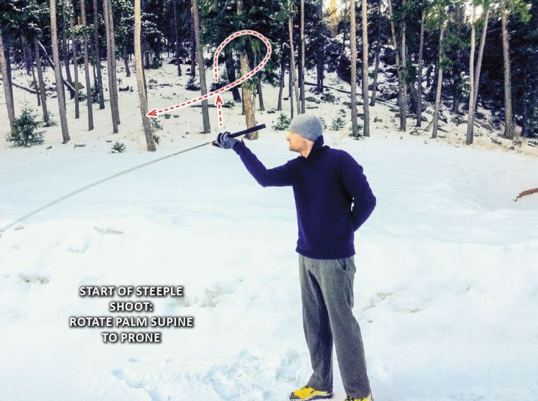 Advanced Tenkara Casting - Steeple Shoot