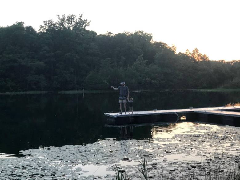 Timothy O'Dell - Davy Tenkara - Dock
