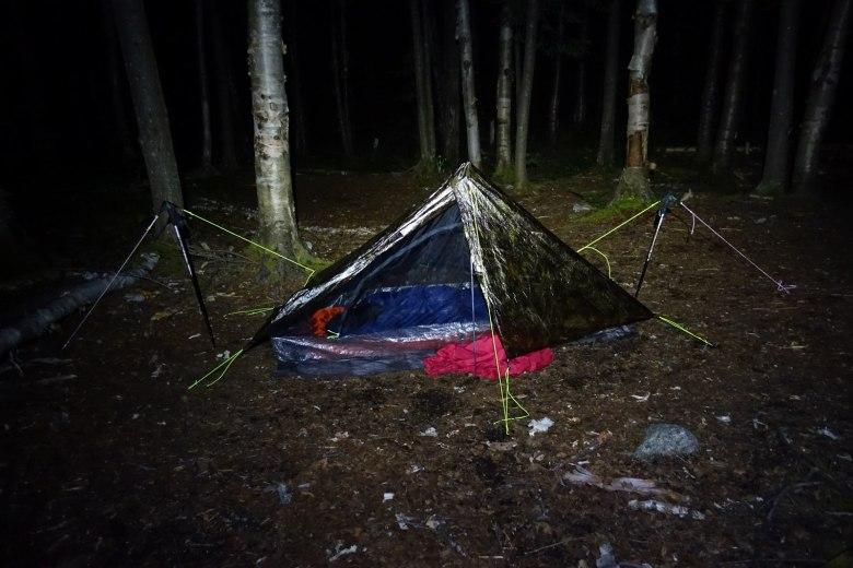 Tenkara Adirondacks New York - Adam Klagsbrun - Ultralight Tent
