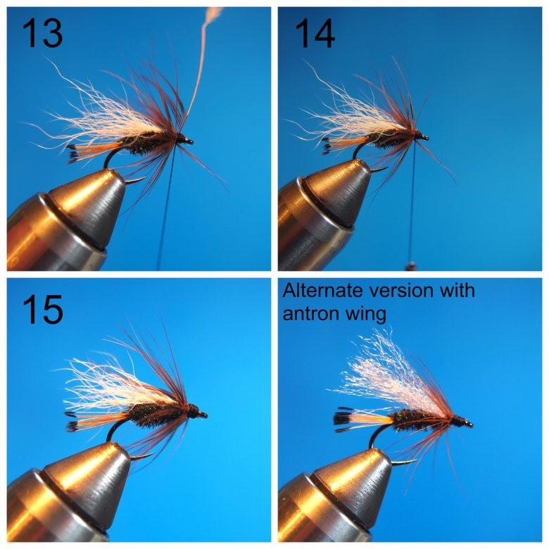 Anthony Naples - Pass Lake Wet Fly - Steps 13-15