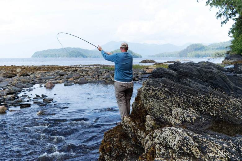 Brad Trumbo - Fixed on Pink Salmon - Salmon run