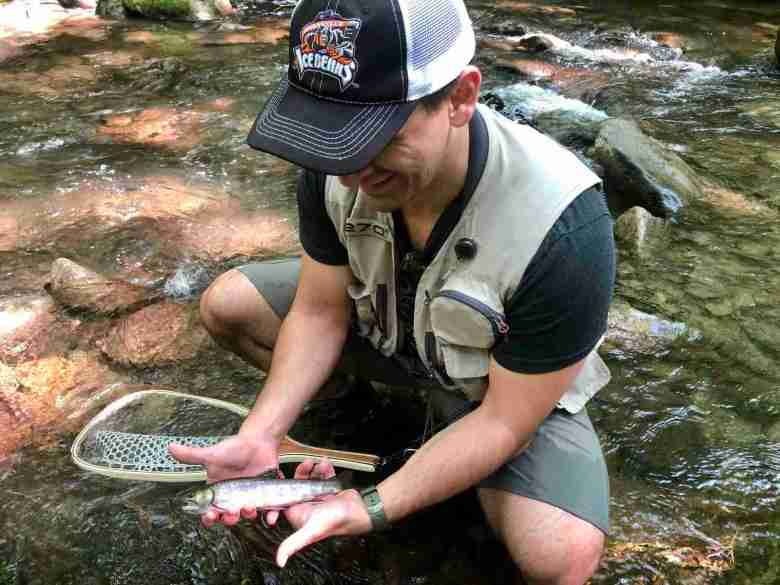 Brian Gabriel Canever - Discovering Peace Through Tenkara - My Biggest Brookie in the Smokies