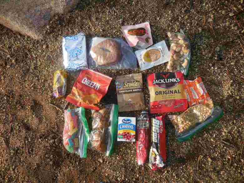 Tristan Higbee - Ultralight Backpacking Tenkara - No cook food