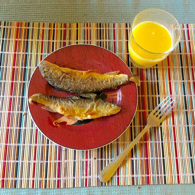 Bill Robichaud - Home is where the Trout is - trout breakfast