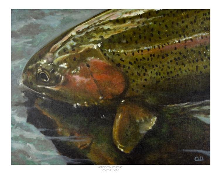 Tenkara Angler Gift Guide - Steve Cobb Rainbow Release