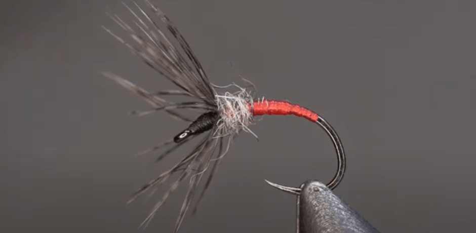 Brent Auger - Red & Black Sakasa Kebari - Tenkara Angler