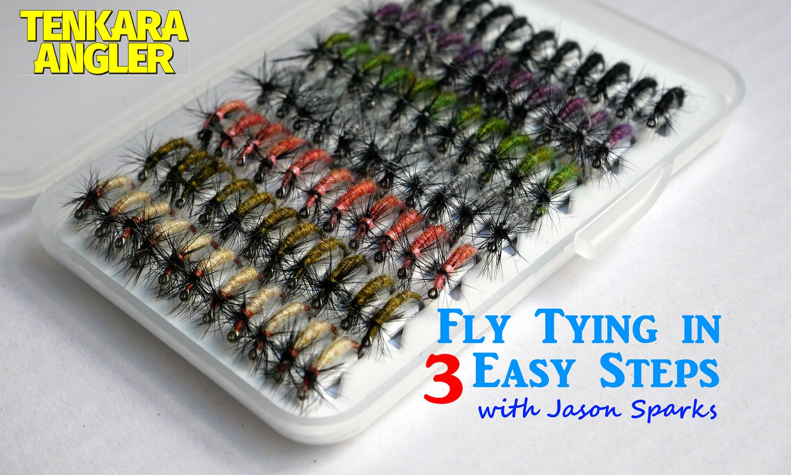 Jason Sparks - Fly Tying in 3 Easy Steps - Tenkara Angler