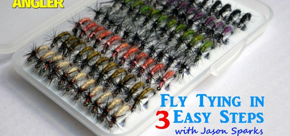 Jason Sparks - Fly Tying in 3 Easy Steps - Tenkara Angler