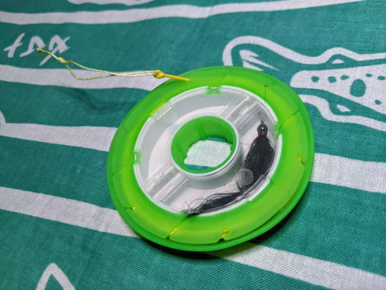 Tanuki PVC Tapered Floating Tenkara Line Review - Fly Box Feature