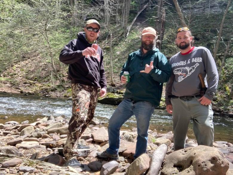 John-Paul Povilaitis - Tenkara Angler -Brookies Beer Slay City - Crew