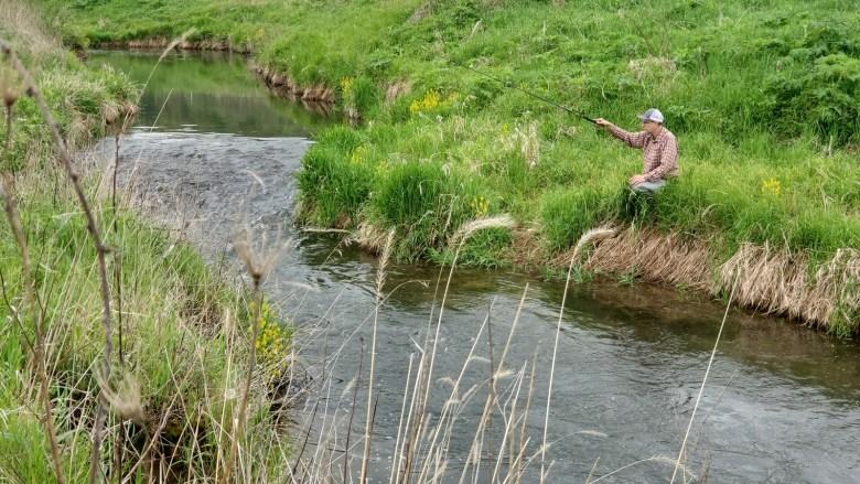 fixed line fly fishing driftless - tenkara angler - anthony naples