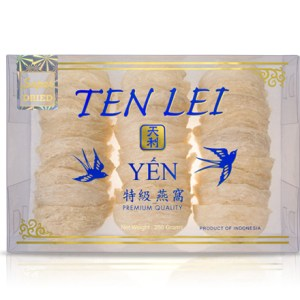 edible birds nest 250 gram Timur Super White