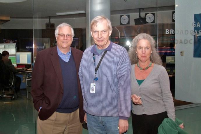 Prof. Klein, Prof. Krasnow and Bob Edwards