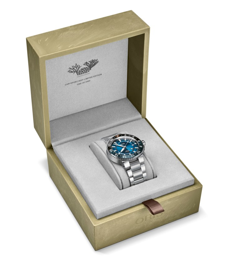 01 798 7754 4185-Set MB - Oris Carysfort Reef Limited Edition