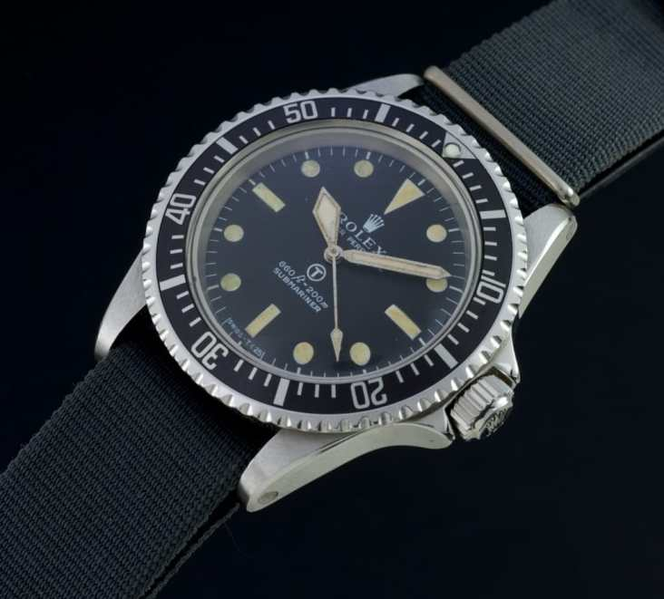 Military Issue Submariner Image from Forces.net