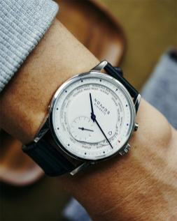 Nomos Zurich Worldtime - Image from Topper Jewelers