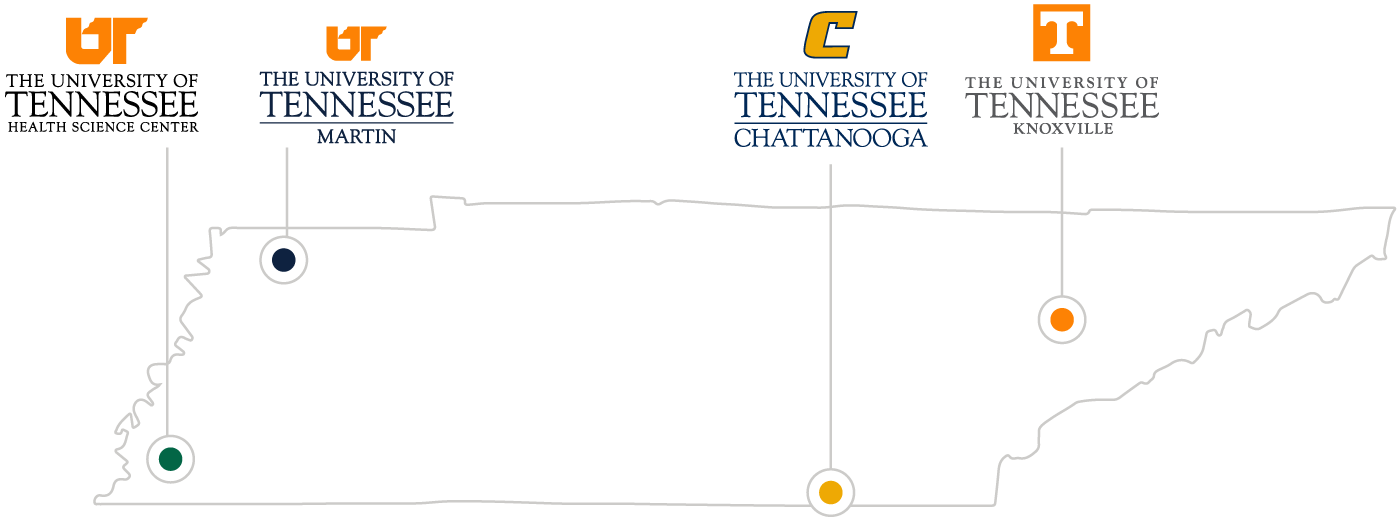 Statewide campus map