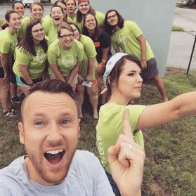 Carson Newman BCM Move In Team
