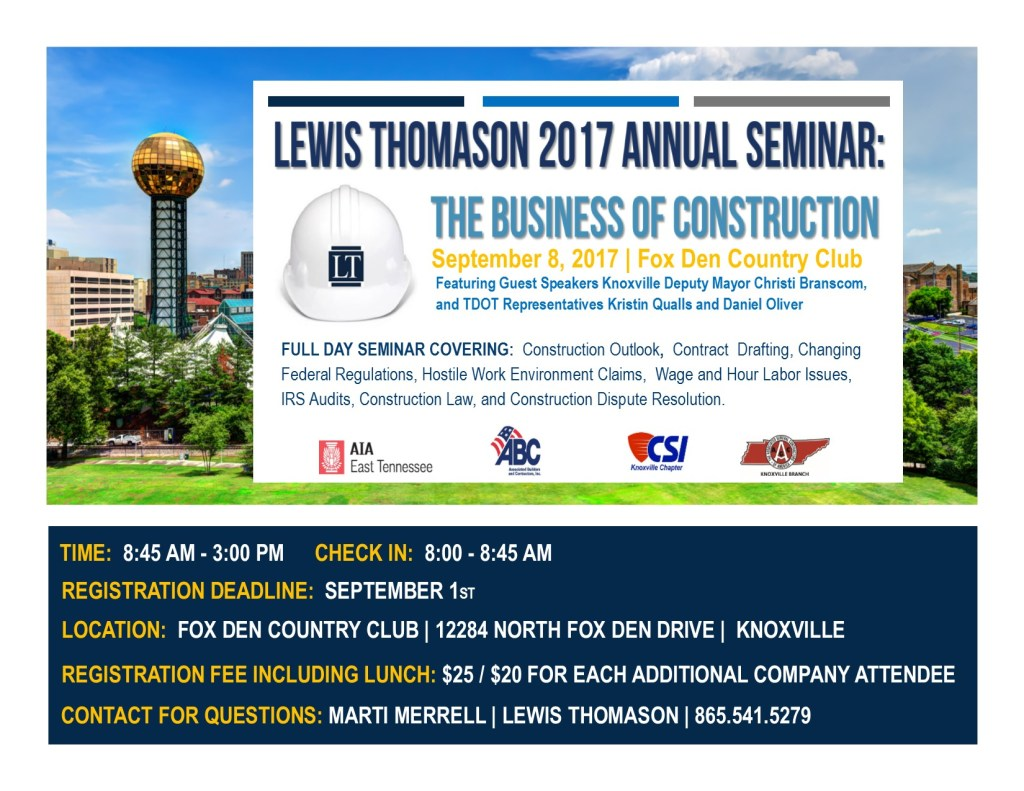Construction Law Seminar