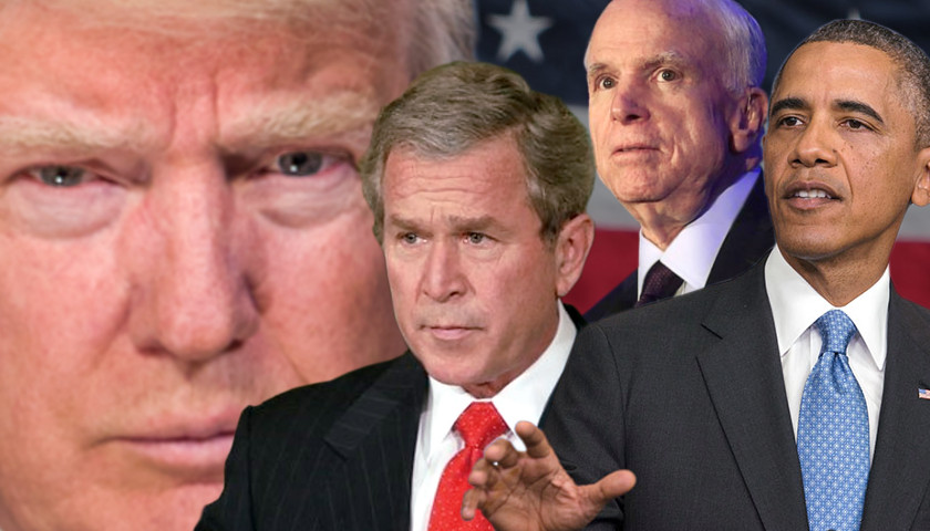 Image result for photos of mccain bush obama