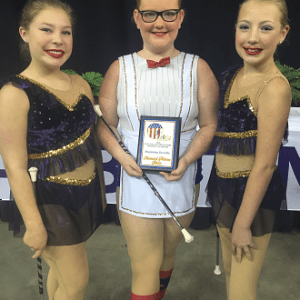 2016 Nationals - 2nd place Trio