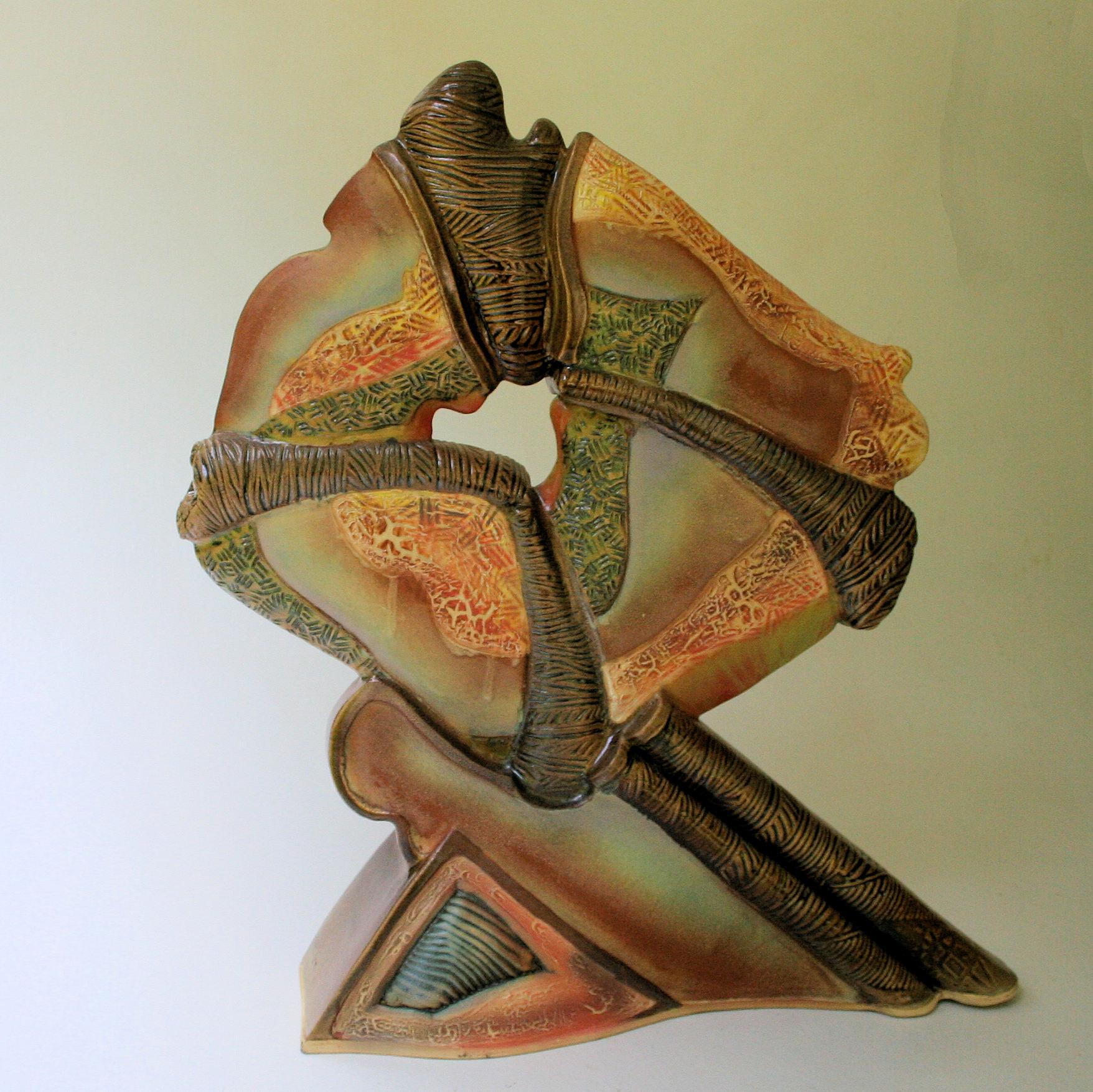 Tectonic Shift by Helene Fielder