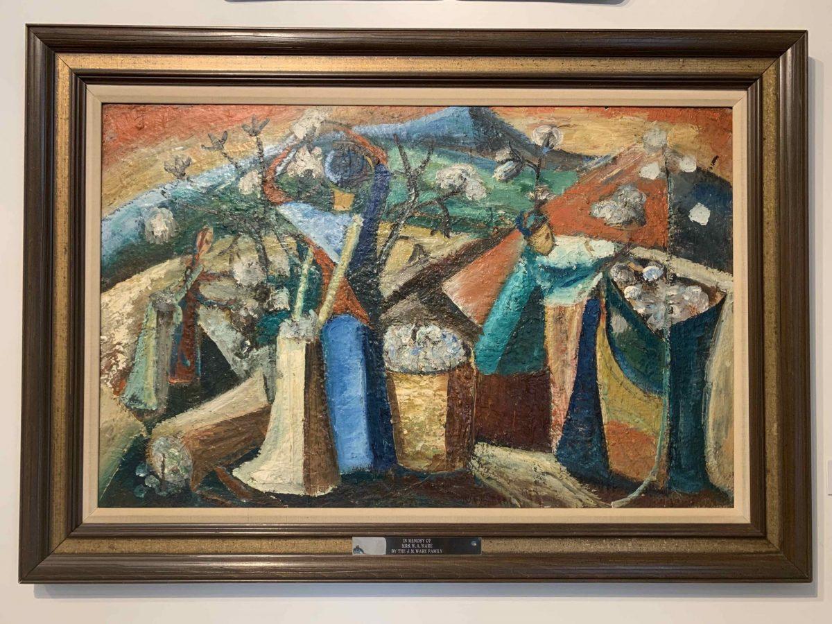 Women Picking Cotton by Ethel Davis