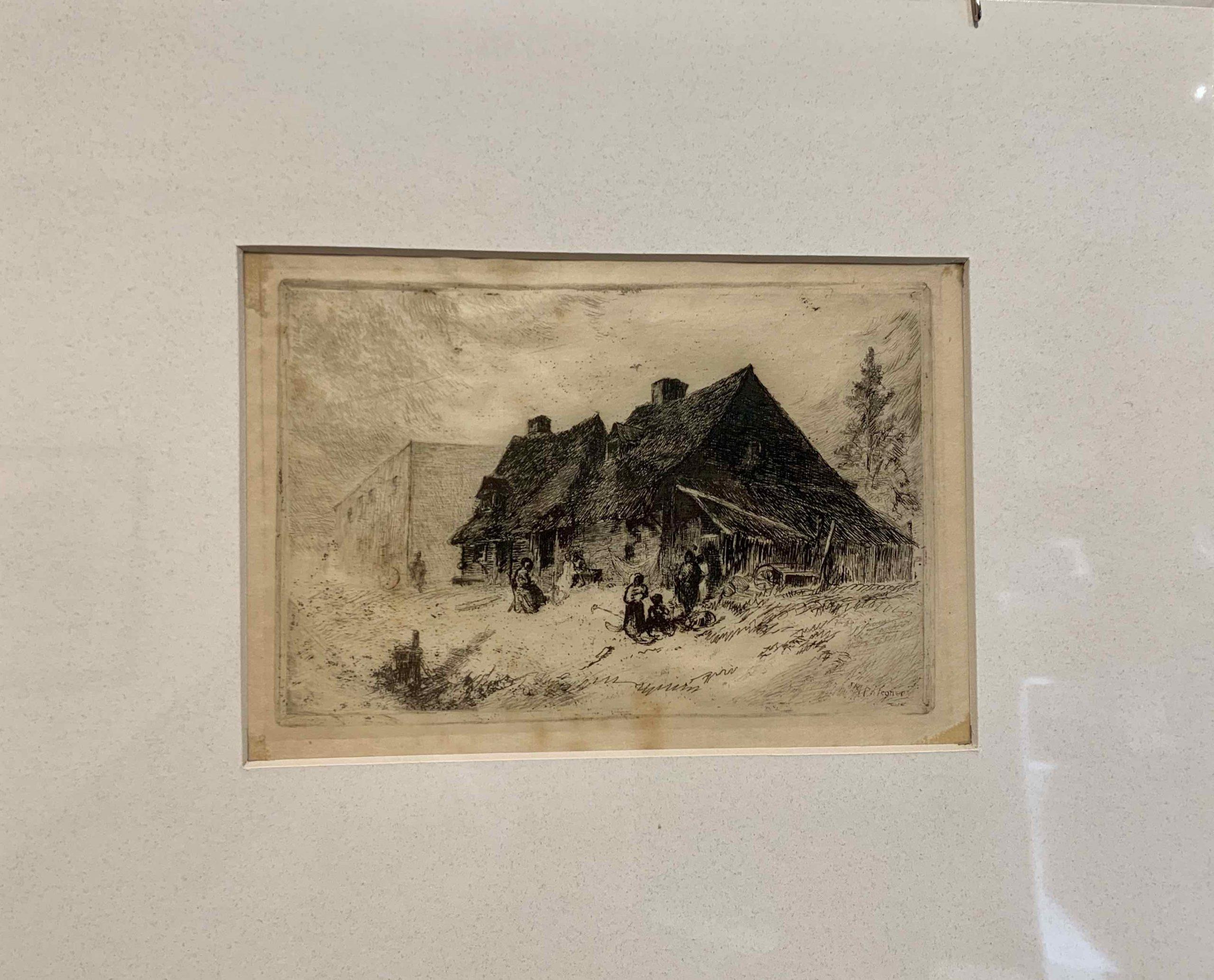 Negro Huts at Wilmington, N.C. (1880) John Mackie Falconer