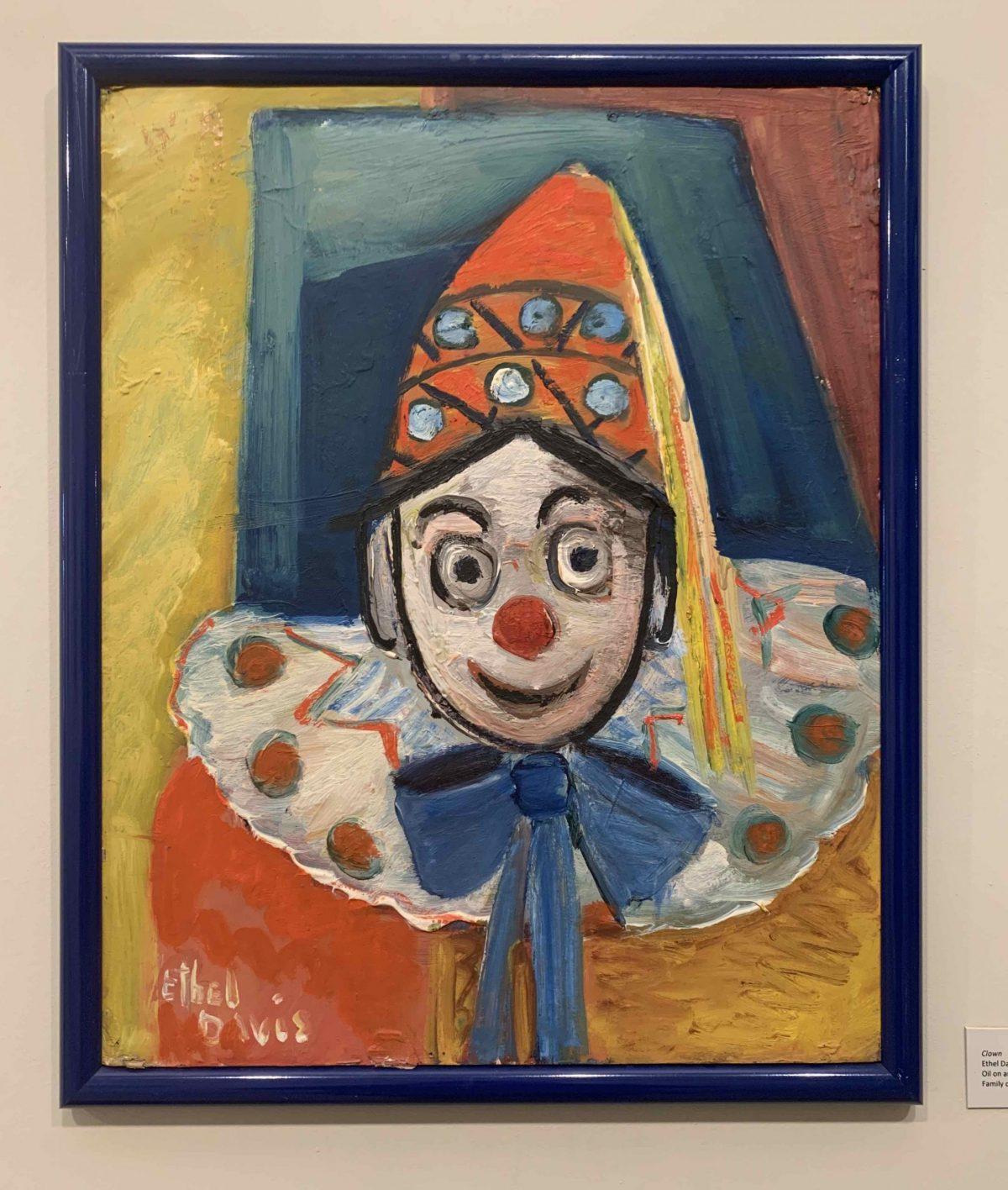 Clown by Ethel Davis