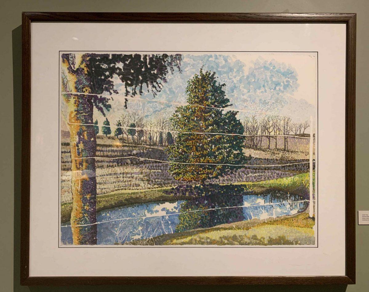 Cedar Tree (c. 1992) Pamela Keller