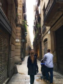 Strolling the Gothic Quarter