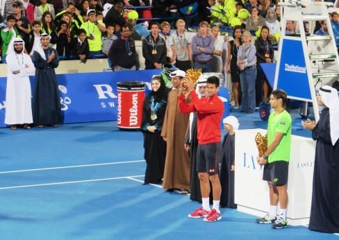 Djokovic trophy