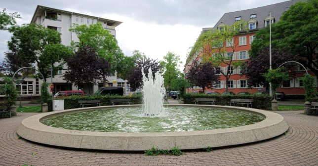 Tennenbacher Platz, Foto von Wikimedia