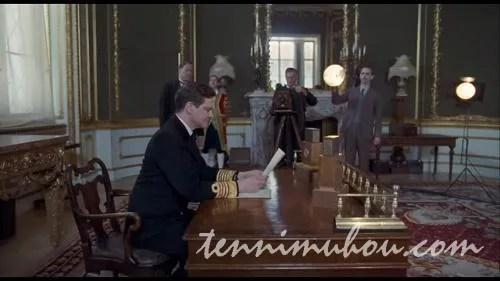 録音を行うアルバート王子