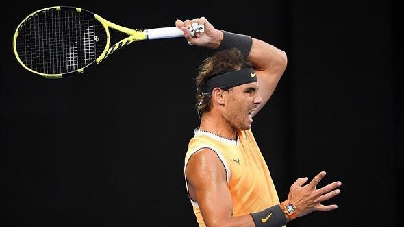 Rafael Nadal into The Smi-Finals