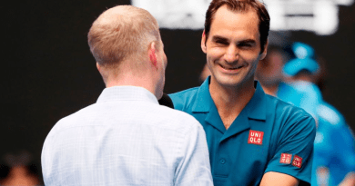 Roger Federer Court Interview with Jim Courier After 2R
