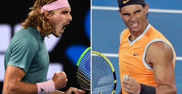 Rafael Nadal faces Tsitsipas in a big Match for the final