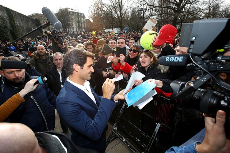 """Roger Federer """"It was dream to play Laver Cup here"""""""
