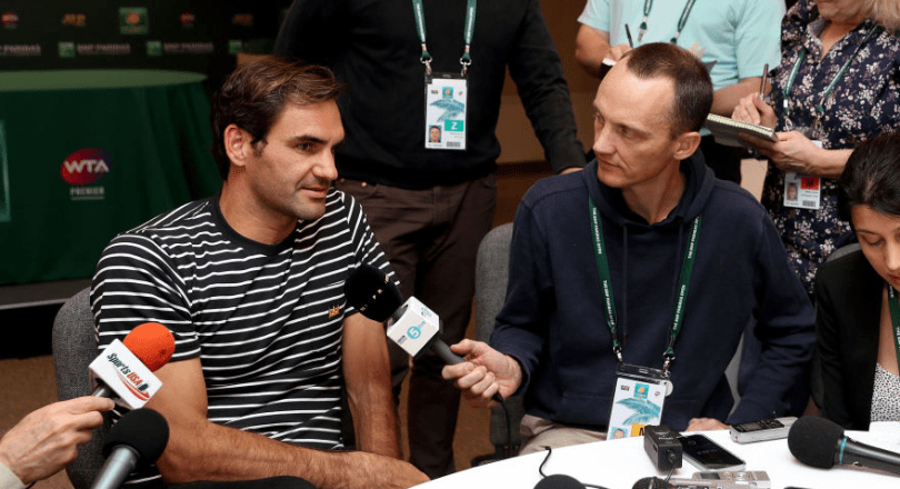 Roger Federer Press Conference before Indian Wells