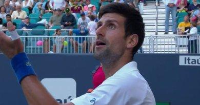 Novak Djokovic criticized Miami's court