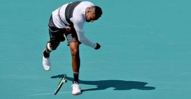 Nick Kyrgios insults a fan with bad word