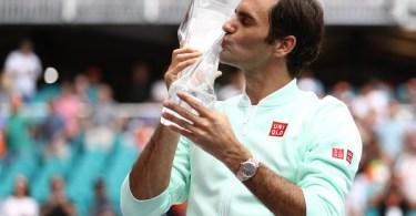 Roger Federer Records in Miami